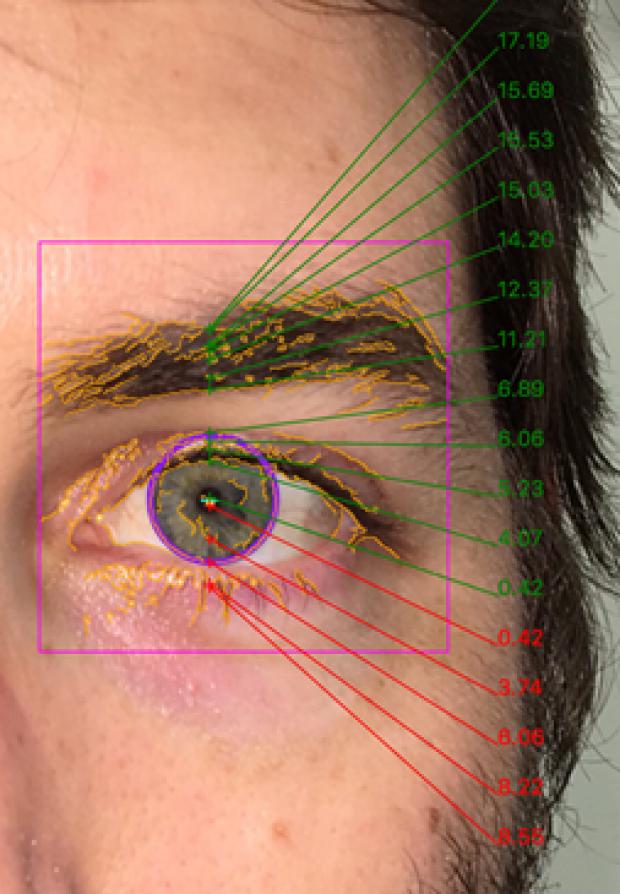 eyeball zoom in