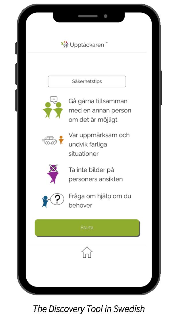 Discovery Tool in Swedish