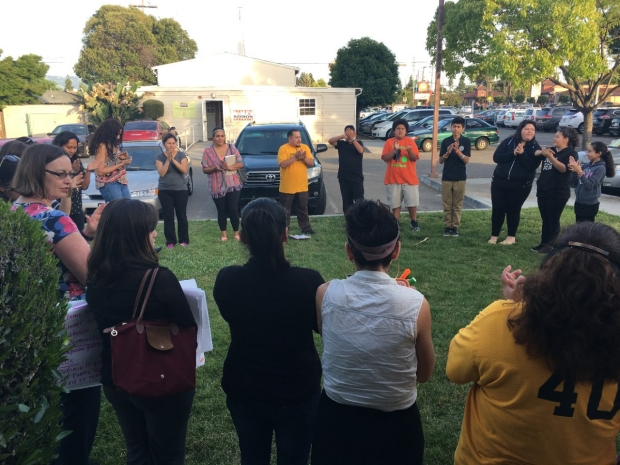community members meeting