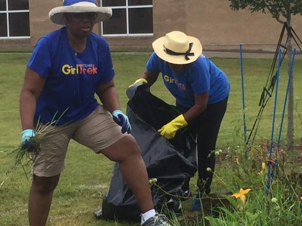 Gardening with GirlTrek
