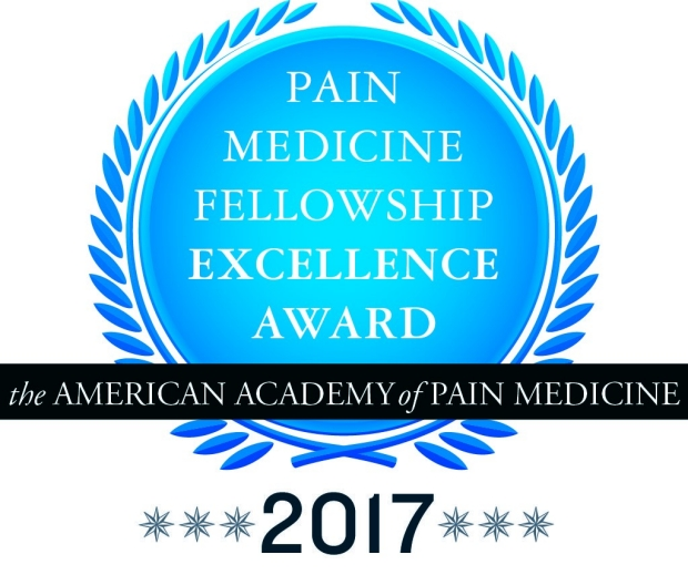 American Academy of Pain Medicine 2017 Fellowship Award