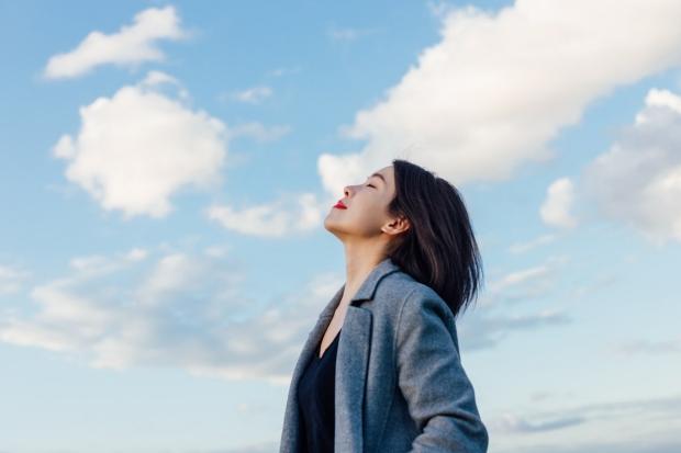 family walking in veg garden
