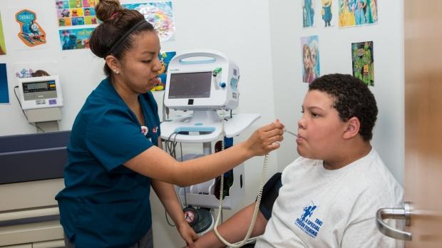 Nurse & Evan temperature