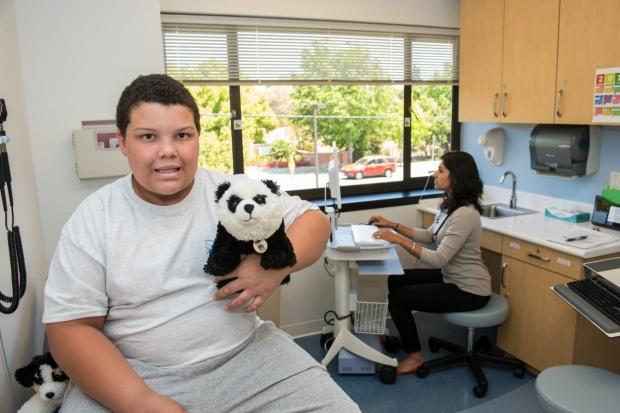 Evan & panda