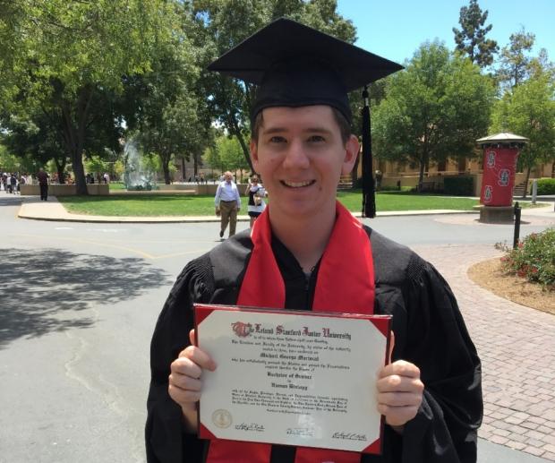 Michael Mariscal Graduates