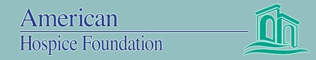 American Hospice Foundation logo