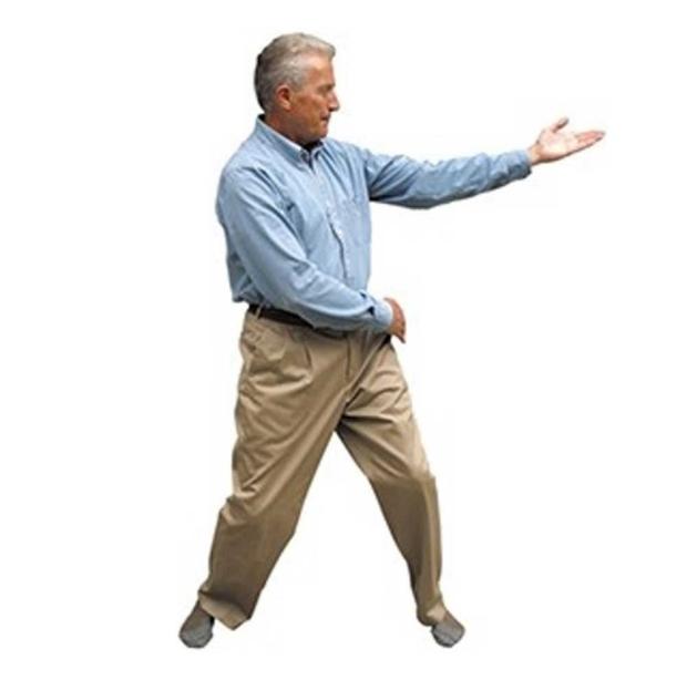 John Argue exercising
