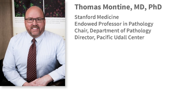 photo of Thomas Montine, chair of Stanford Pathology