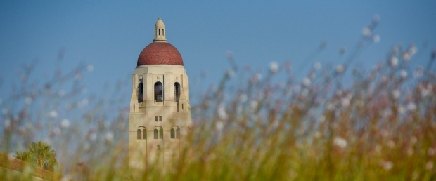 photo of Hoover Tower, Stanford Campus
