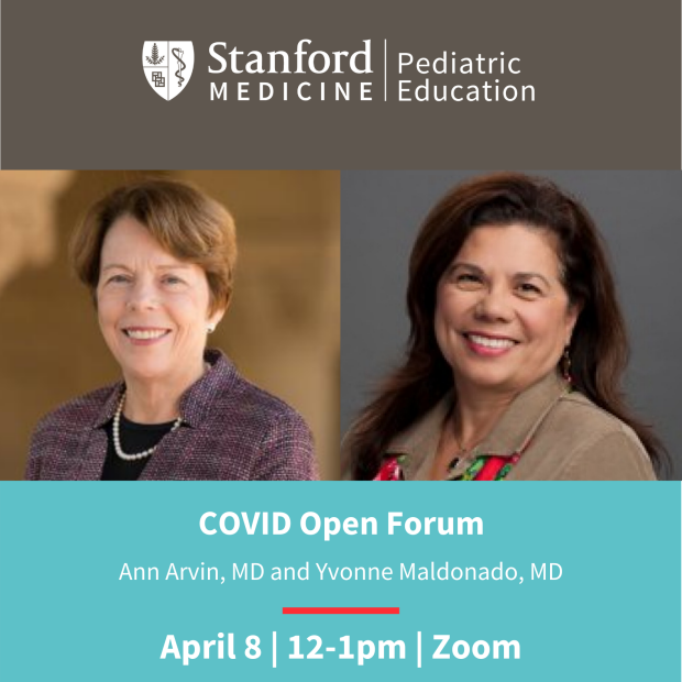 Covid in Children Seminar at Stanford Pediatrics