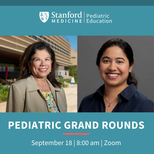Pediatric Grand Rounds Webinar (CME): COVID Scientific Developments and Lessons Learned