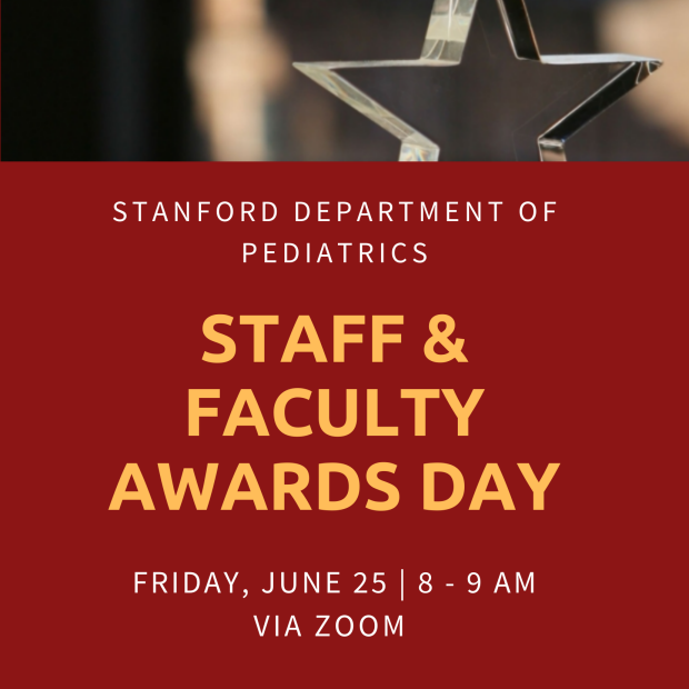 Pediatric Faculty and Staff Awards