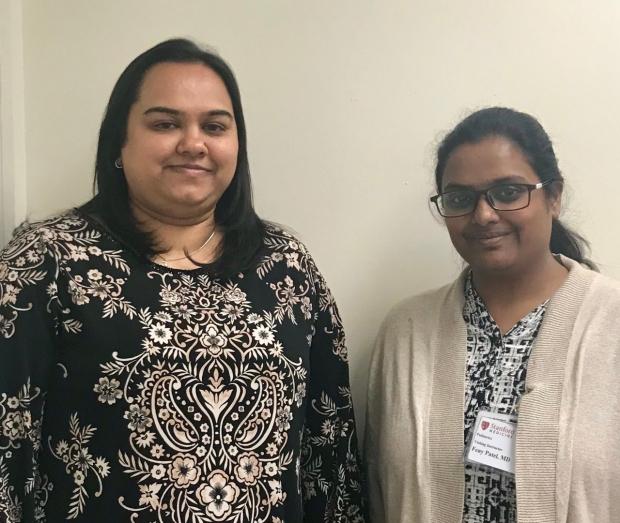 Priya and visiting scholar