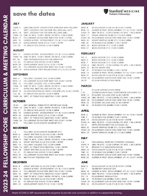 2021-22 Didactics Calendar