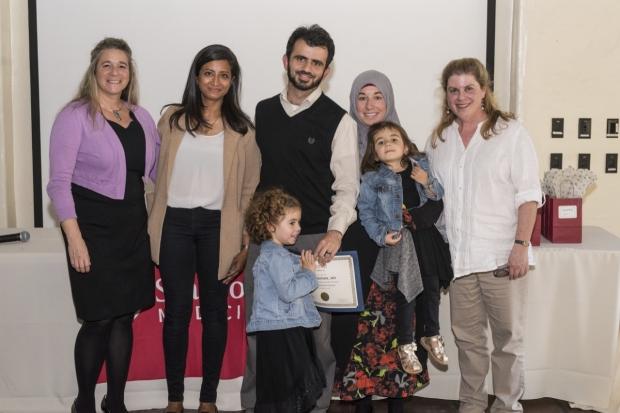Recent program graduate Talal Seddik