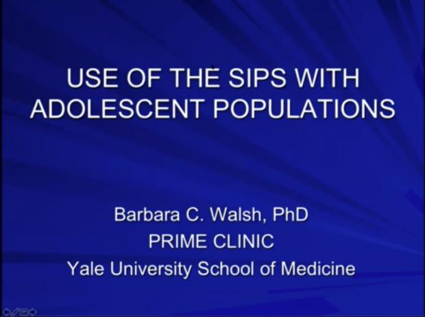 Barbara Walsh, Ph.D., Yale University School of Medicine