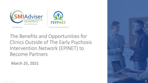 The Benefits and Opportunities for Clinics Outside of EPINET to Become Partners