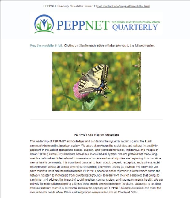Fall 2019 PEPPNET Newsletter