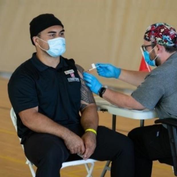 Vaccination Photo Credit: Steve Fisch