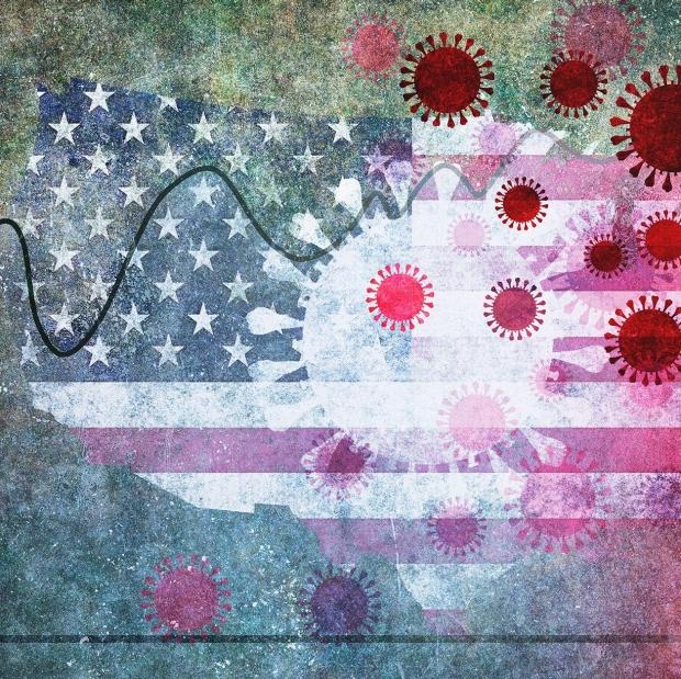 coronavirus-flag