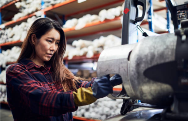 woman in industry