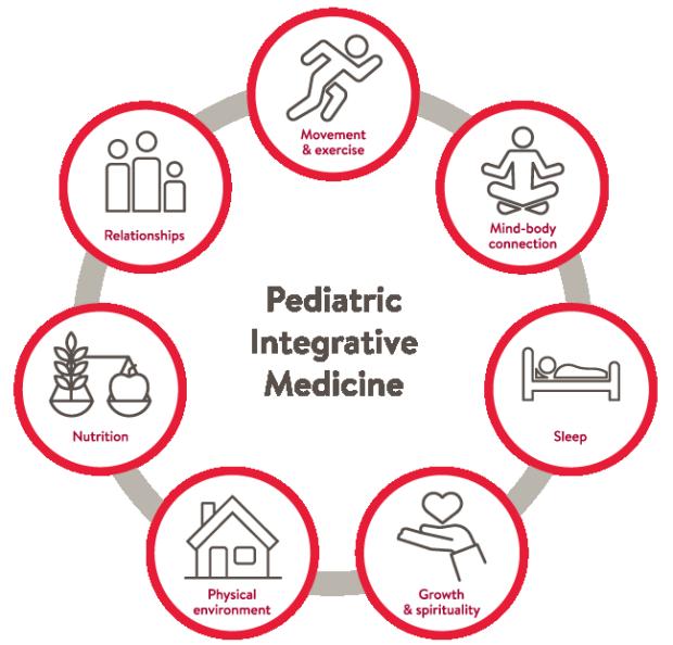 Stanford Pediatric Integrative Medicine Fellowship Wheel