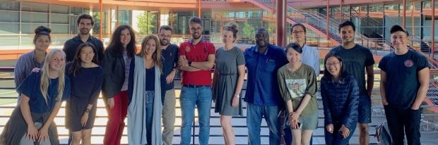 Plevritis Lab group photo 2019
