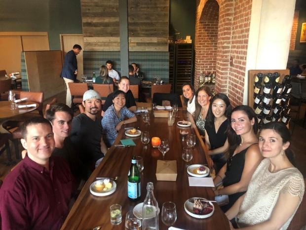Poston Lab Dinner 2019