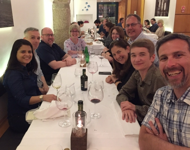 Dinner with the Pacific Udall Center folks at the 2019 AD/PD Conference in Lisbon, Portugal.