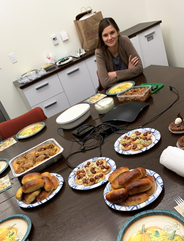 Poston Lab Thanksgiving Potluck 2018