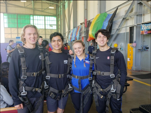 Cole-Urban-Vivek-Tanna-Lexi-Long-and-Alex-Somera--Stoked-to-Skydive