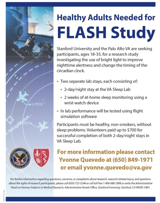 FLASH Study Flyer