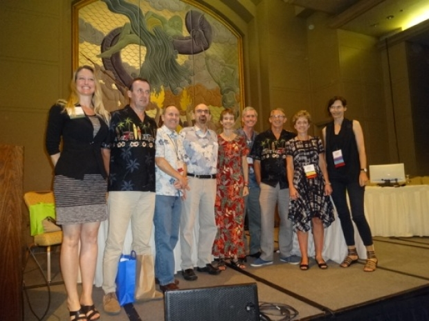 Kate Stevens, MD leads her team to victory at 2015 ISS Film Panel