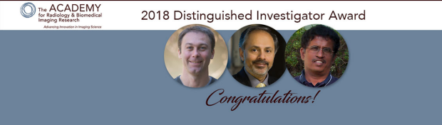 2018 Academy for Radiology & Biomedical Imaging Research Distinguished Investigators