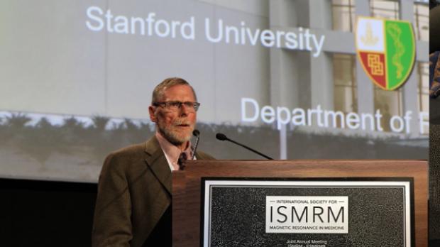 Dr. Glover presents 2018 ISMRM Lauterbur Lecture