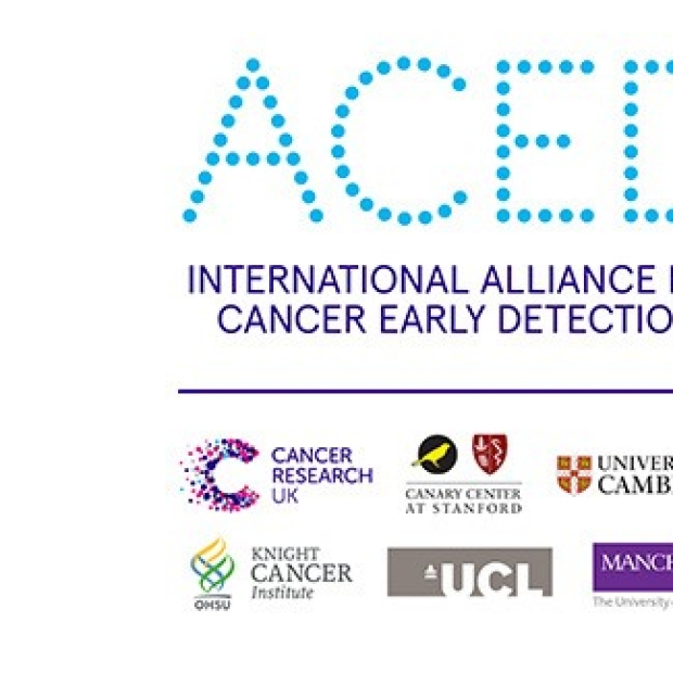 International Alliance for Cancer Early Detection (ACED) logo and partner logos