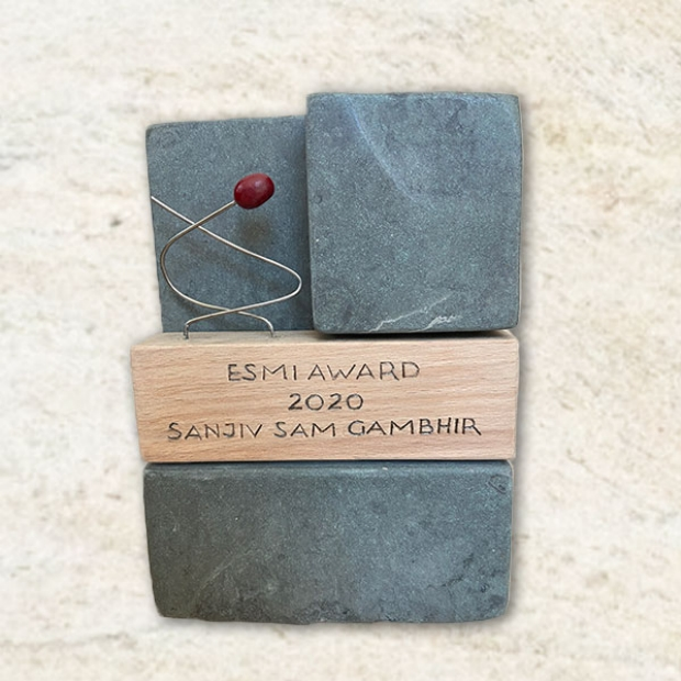 Sanjiv Sam Gambhir, MD, PhD, Received 2020 European Society of Molecular Imaging (ESMI) Annual Award