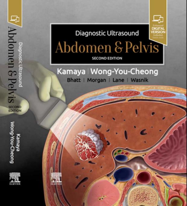 Aya Kamaya, MD, Publishes Diagnostic Ultrasound: Abdomen and Pelvis