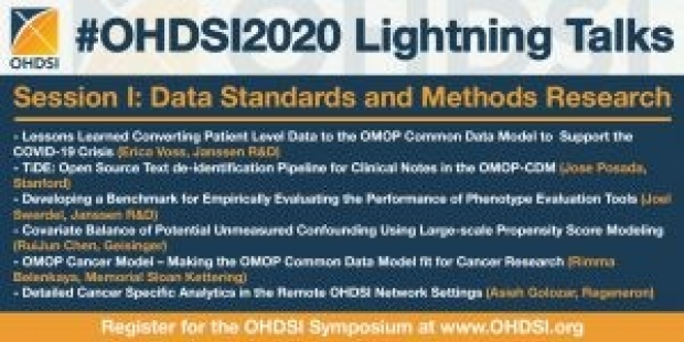 TiDE at OHDSI 2020