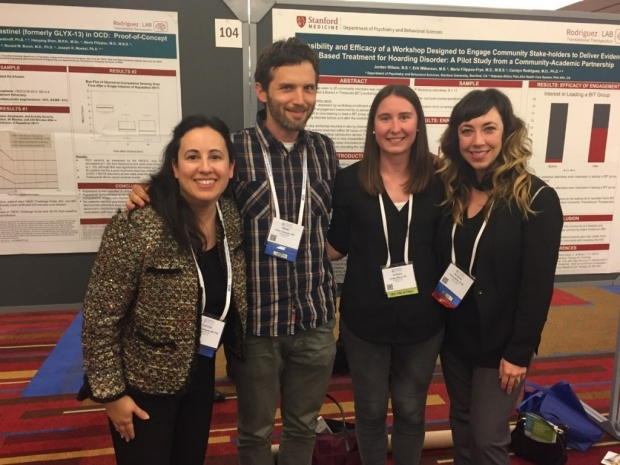 Rodriguez Lab members at the 2017 ADAA conference.