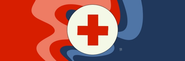 clinic and providers: red cross