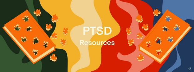 post traumatic stress disorder resources; puzzled books