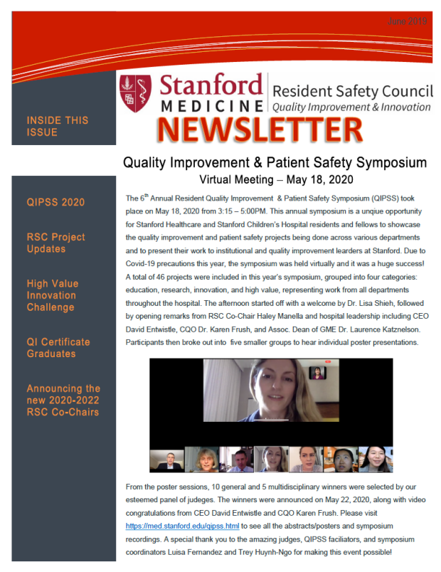 RSC Newsletter 1