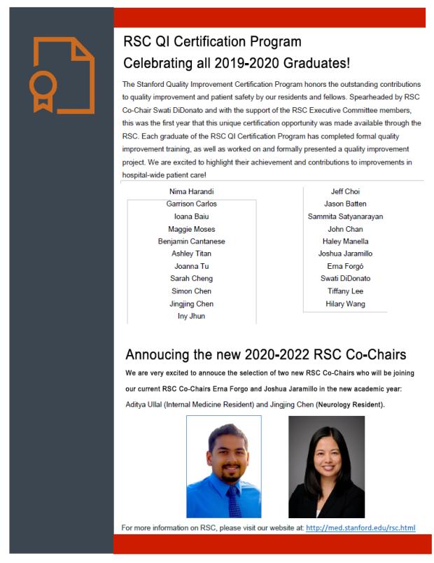 RSC Newsletter 7