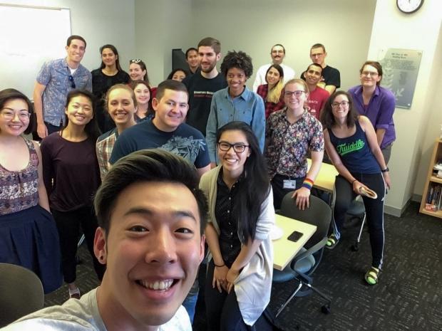 June 2018 meeting selfie