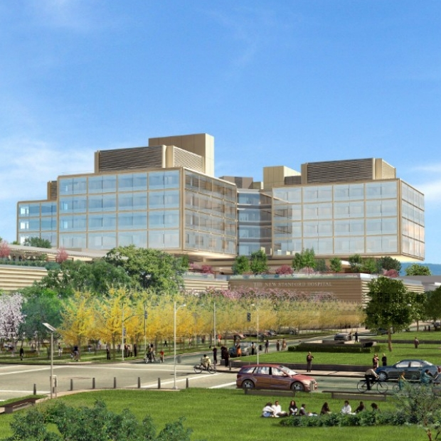 Rendering of the new Stanford Hospital