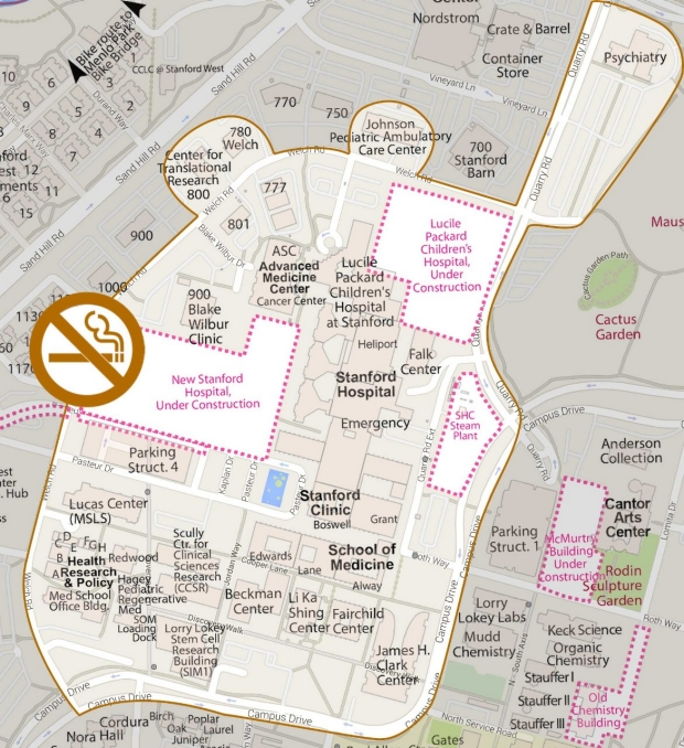Tobacco-Free Campus Policy Map