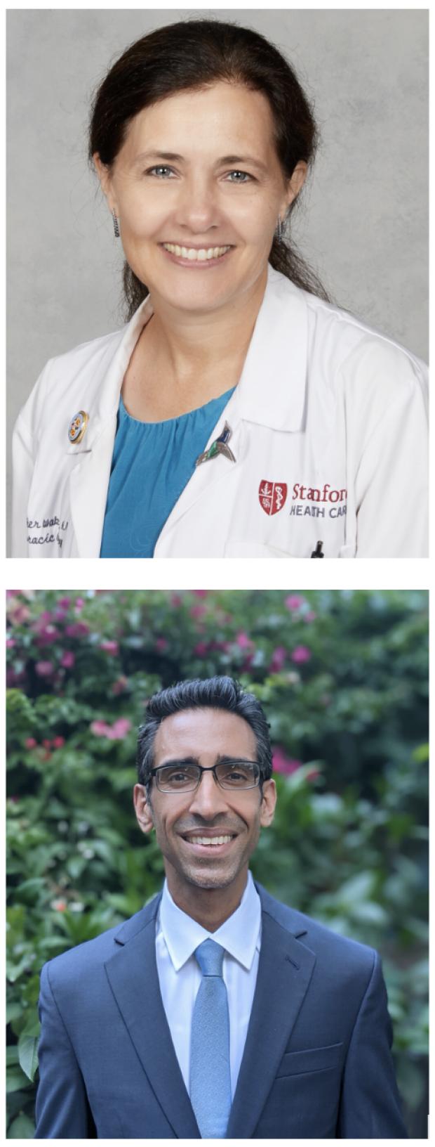 Heather Wakelee, MD, Interim Medical Director, & Rondeep Brar, MD, Interim Medical Co-Director