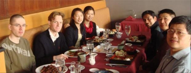 Wu Lab Lunch 2007