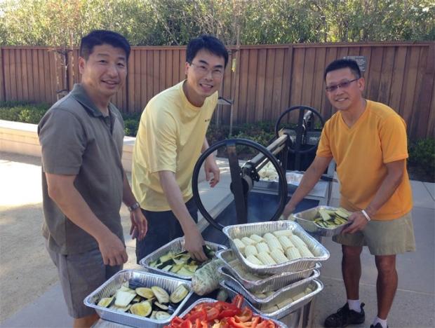 Joint Joe Wu/Phil Yang/Sean Wu/Joy Wu Lab Fall Picnic 2014
